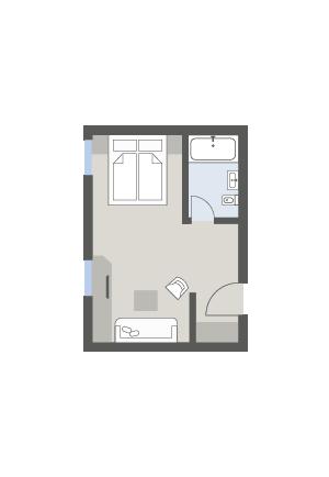Doppelzimmer Zirbe